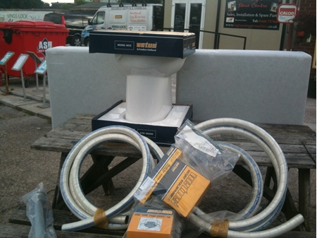 Vetus Pump Out Toilet Kit Everything You Need 215ltr
